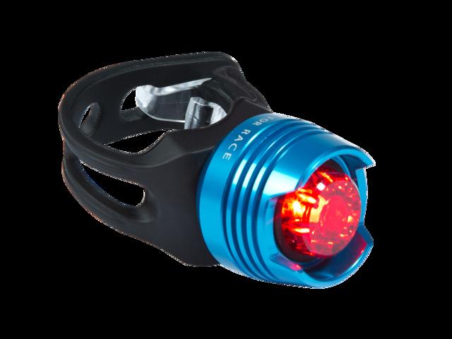 Cube RFR Diamond Cykellygter red LED blå/sort